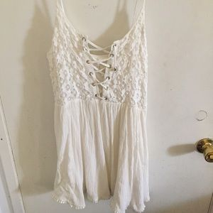 Dresses & Skirts - Forever 21 white lace dress